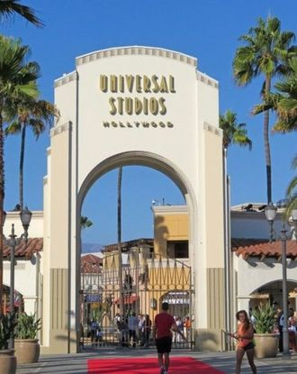 Entrance to Universal Studios in Los Angeles