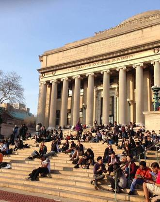 Columbia students return to Low Beach Library
