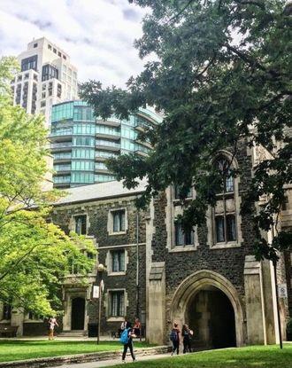 Campus building form University of Toronto