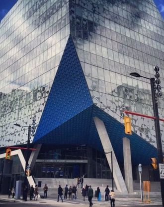 Ryerson University's new Student Learning Centre