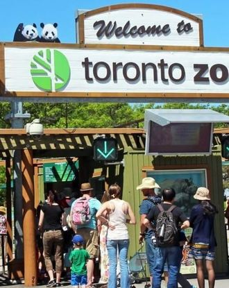 Toronto Zoo entrance