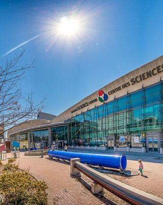 Ontario Science Centre entrance