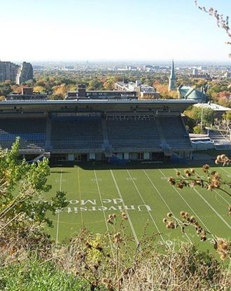 Sports fields at Université de Montréal