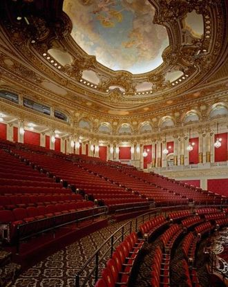 View of the second levele of the Boston Opera House