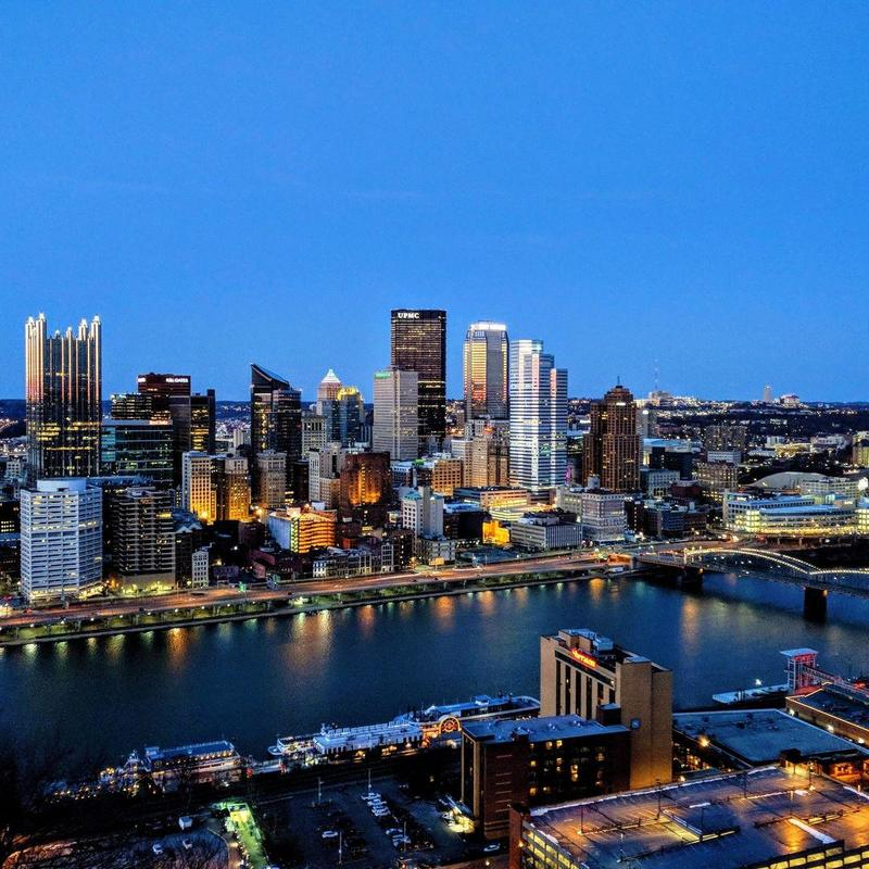 Pittsburgh charter bus rentals make it easy to travel from and to the Pittsburgh area.