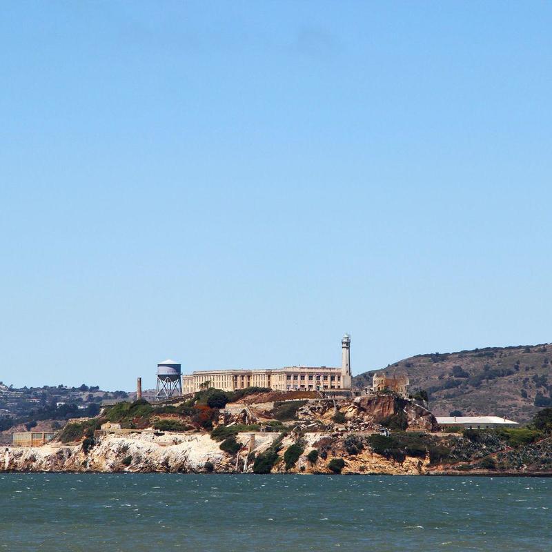 Alcatraz Prison in San Francisco during daytime