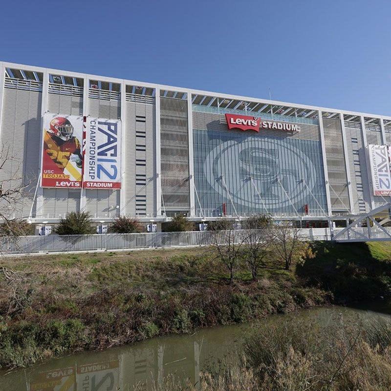 Front view of Levi's Stadium