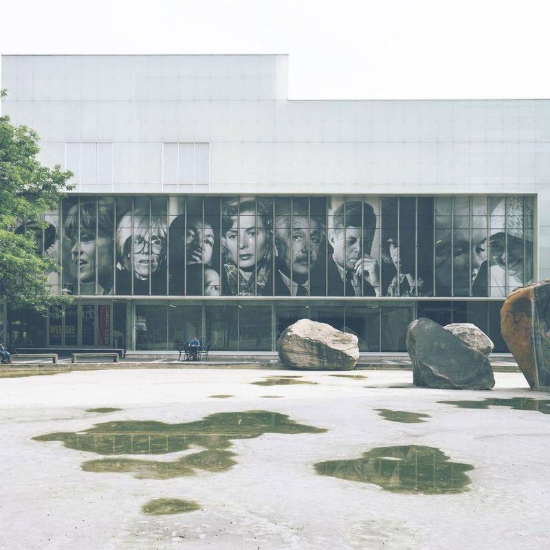 Campus building fromn Ryerson University