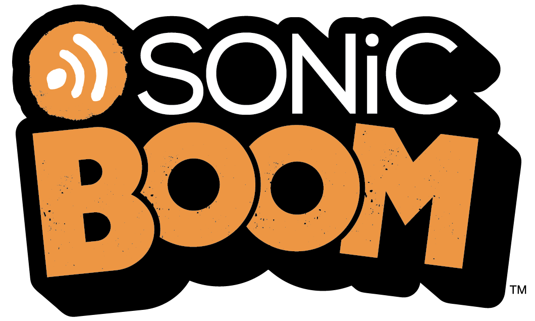 Sonic boom logo proof only