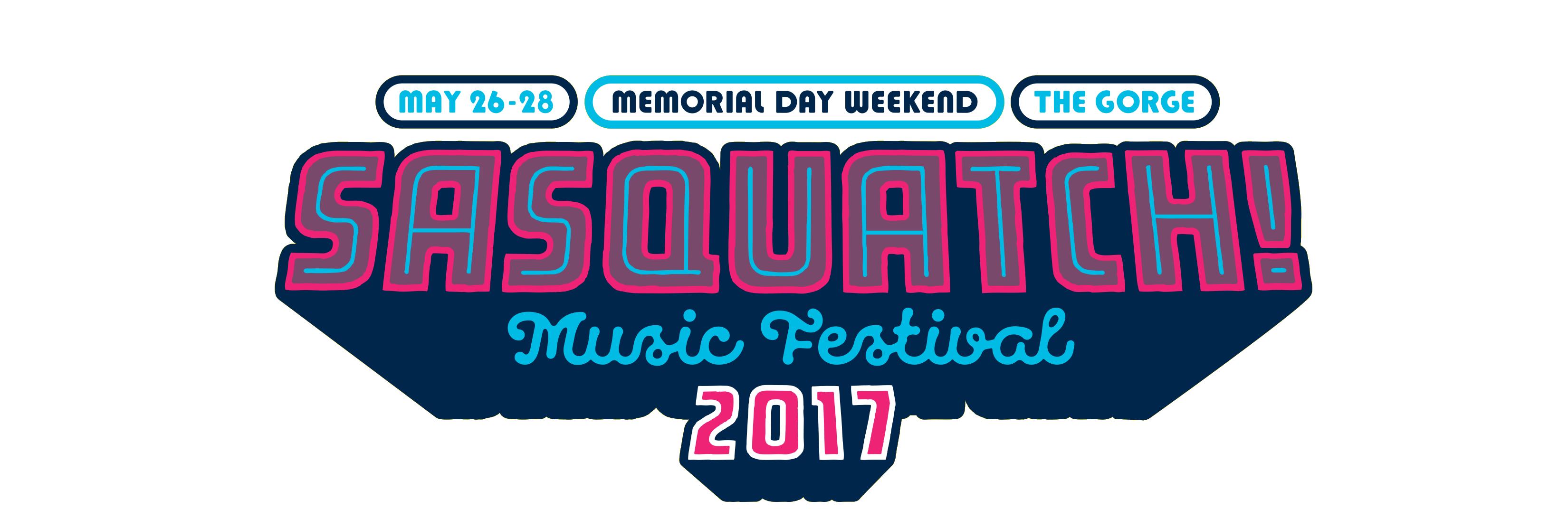 Sasquatch 2017 logo