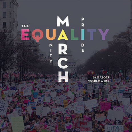 The equality march thumb