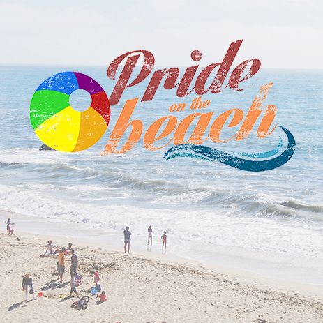 Pride on the beach thumbnail